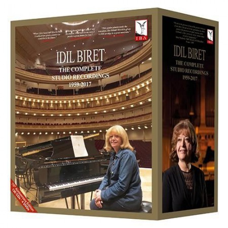 İdil Biret: 75th Anniversary Edition - Complete Studio Recordings 1959-2017 - CD