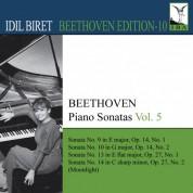 İdil Biret: Beethoven: Piano Sonatas, Vol. 5 - CD