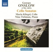 Maria Kliegel: Onslow: Cello Sonatas - CD