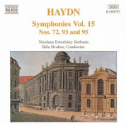 Haydn: Symphonies, Vol. 15 (Nos. 72, 93, 95) - CD
