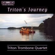 Triton Trombone Quartet, Ben van Dijk: Triton's Journey - Trombone quartet - CD