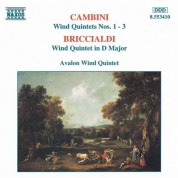 Cambini: Wind Quintets Nos. 1-3 / Briccialdi: Wind Quintet in D Major - CD