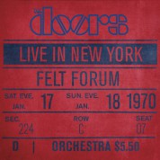 The Doors: Live in New York - Plak