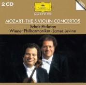 Itzhak Perlman, James Levine, Wiener Philharmoniker: Mozart: 5 Violin Concertos - CD