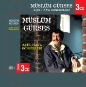 Müslüm Gürses: Açık Hava Konserleri 3'lü Kutu - CD