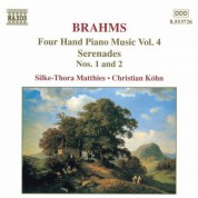 Christian Kohn, Silke-Thora Matthies: Brahms: Four-Hand Piano Music, Vol.  4 - CD