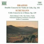 Brahms: Double Concerto / Schumann: Cello Concerto in A Minor - CD