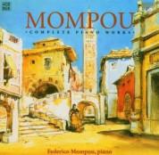 Federico Mompou: Mompou: Complete Piano Works - CD