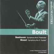 London Philharmonic Orchestra, Adrian Boult: Beethoven/ Mozart: Sym. No.6/ Sym. No.41 - CD