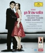 Carlo Rizzi, Thomas Hampson, Konzertvereinigung Wiener Staatsopernchor, Anna Netrebko, Rolando Villazón, Wiener Philharmoniker: Verdi: La Traviata - BluRay