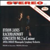 Byron Janis, Antal Doráti, Minneapolis Symphony Orchestra: Rachmaninoff: Piano Concerto No.2 - Plak
