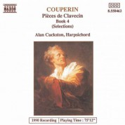 Couperin, F. : Suites for Harpsichord Nos. 22, 23, 25 & 26 - CD