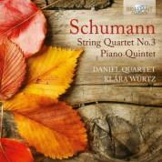 Daniel Quartet, Klára Würtz: Schumann: String Quartet - Piano Quintet - CD