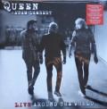 Queen, Adam Lambert: Live Around the World (Limited Edition - Red Vinyl) - Plak