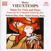Vieuxtemps: Viola and Piano Music - CD