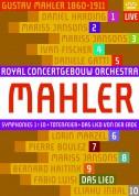 Royal Concertgebouw Orchestra: Mahler: Symphonie Nos.1-10 - DVD