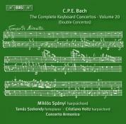 Miklós Spányi, Concerto Armonico, Márta Ábrahám: C.P.E. Bach: Keyboard Concertos, Vol. 20 - CD