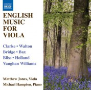 Matthew Jones: English Music for Viola - CD