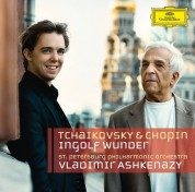 Ingolf Wunder, St. Petersburg Philharmonic Orchestra, Vladimir Ashkenazy: Tchaikovsky/ Chopin: Piano Concertos - CD