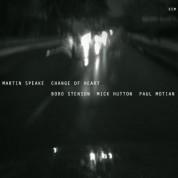 Martin Speake: Change of Heart - CD
