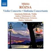 Dmitry Yablonsky: Rozsa: Violin Concerto / Sinfonia Concertante - CD