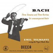 Emil Telmanyi: Three Sonatas And Three Partitas For Unaccompanied Violin - Plak