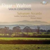 Salvatore Accardo, London Symphony Orchestra, Richard Hickox: Elgar/ Walton: Violin Concertos - CD