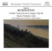 Takako Nishizaki: Rubinstein: Violin Concerto - Cui: Suite Concertante - CD