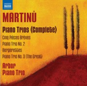 Arbor Piano Trio: Martinů: Piano Trios (Complete) - CD