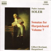 Soler, A.: Sonatas for Harpsichord, Vol.  7 - CD