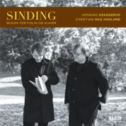 Henning Kraggerud: Sinding, C.: Violin and Piano Music - CD