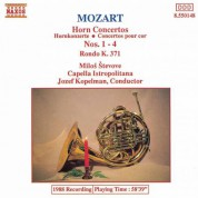 Milos Stevove: Mozart: Horn Concertos Nos. 1-4 / Rondo in E-Flat Major - CD