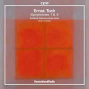 Francis, Berlin Radio Symphony Orchestra: Toch: Symphonies 1 & 4 - CD