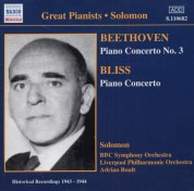 Solomon Cutner: Beethoven / Bliss: Piano Concertos (Solomon) (1943-1944) - CD