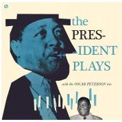 Lester Young, Oscar Peterson Trio: The President Plays With The Oscar Peterson Trio - Plak