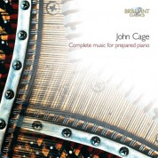 Giancarlo Simonacci: Cage: Complete Music for Prepared Piano - CD