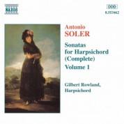Soler, A.: Sonatas for Harpsichord, Vol.  1 - CD