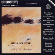 Tina Kiberg, Rosemarie Lang, William Cochran, Mikhail Krutikov, University of Maryland Chorus, European Symphony Orchestra, Antal Doráti: Beethoven: Missa Solemnis - CD