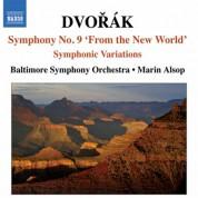 Marin Alsop, Baltimore Symphony Orchestra: Dvořák: Symphony No. 9 & Symphonic Variations (Live) - CD