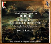 Jordi Savall: Biber: Battalia a 10 & Requiem a 15 - CD