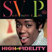 Sarah Vaughan a Paris - CD