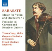 Tianwa Yang: Sarasate: Music for Violin and Orchestra, Vol. 2 - CD