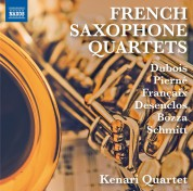Kenari Quartet: French Saxophone Quartets - CD