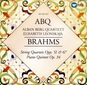 Elisabeth Leonskaja, Alban Berg Quartett: Brahms: String Quartets, Piano Quintet - CD