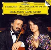 Martha Argerich, Mischa Maisky: Beethoven: Cellos Sonatas 3,4,5 - CD