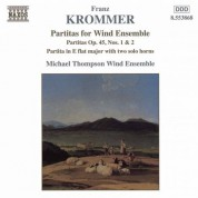 Krommer: Partitas for Wind Ensemble Op. 45, Nos. 1-2 - CD