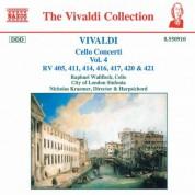 Vivaldi: Cello Concertos, Vol.  4 - CD