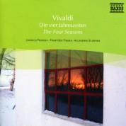 Jindich Pazdera: Vivaldi: The Four Seasons / Violin Concertos, Op. 3, Nos. 6 and 8 - CD
