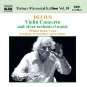 Philippe Djokic: Delius: Violin Concerto - CD