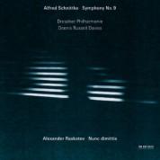 Dresdner Philharmonie, Dennis Russell Davies: Alfred Schnittke: Symphony No. 9 / Alexander Raskatov: Nunc dimittis - CD